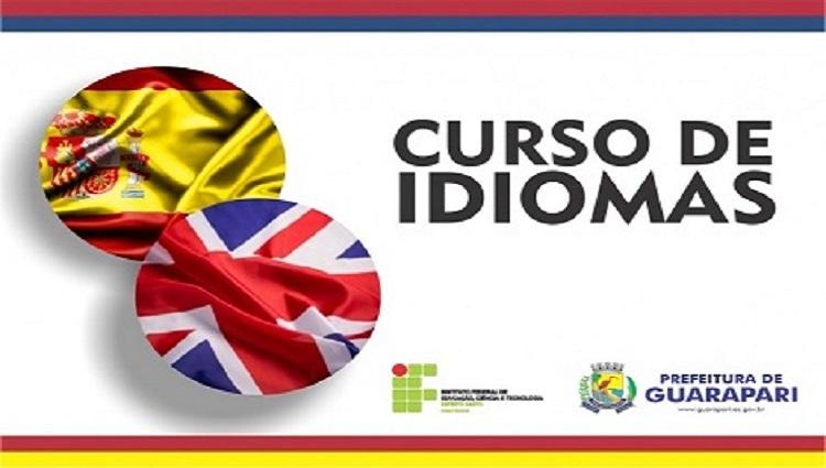 Novo edital do curso de Idiomas do Ifes campus Guarapari