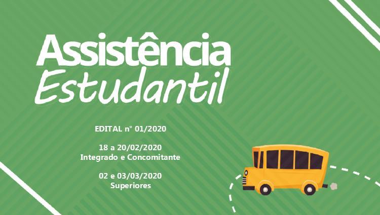 Confira o edital do Programa de Assistência Estudantil - 2020/1