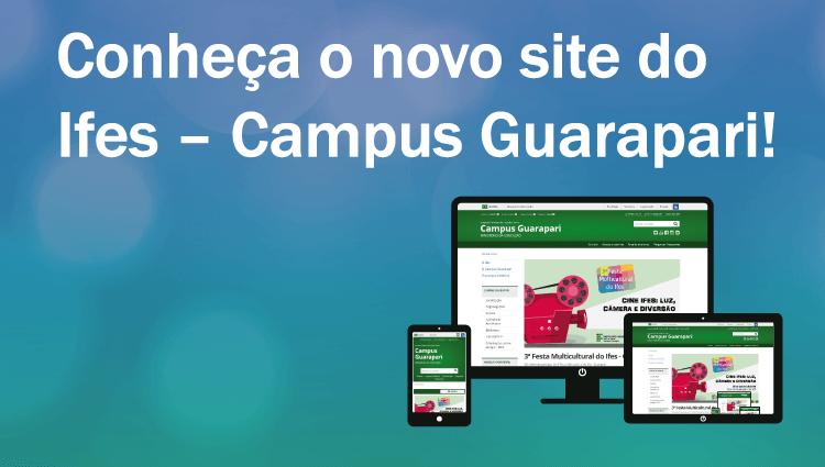 Campus Guarapari lança novo portal institucional